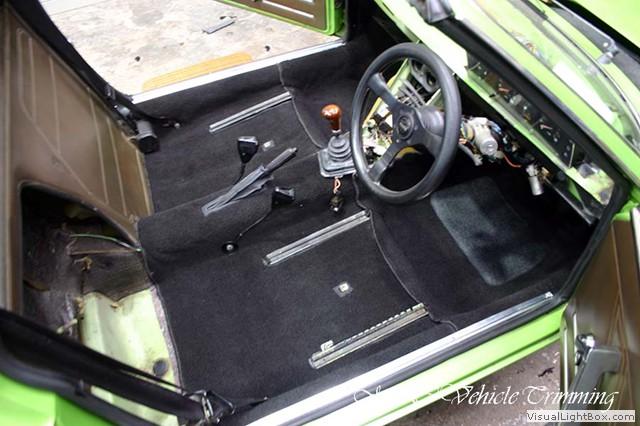 Fiat X1 9 Disegno Bertone Carpet Replacement Car Interior M C