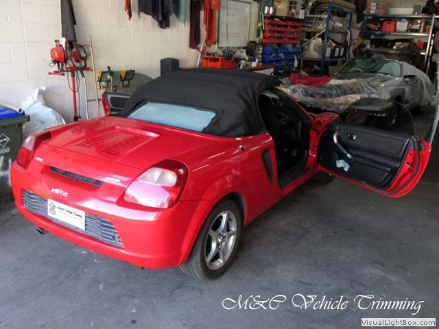 Toyota Mr 2 Spyder 2000 Convertible Soft Top Replacement By M C Vehicle T